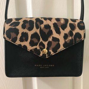 Marc Jacobs leopard crossbody